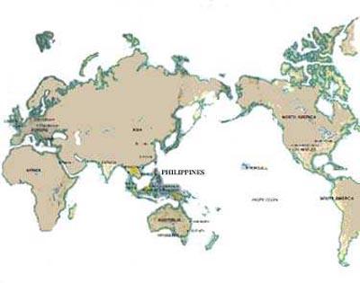 Philippine Location Map