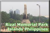 Rizal Memorial Park, Islands Philippines